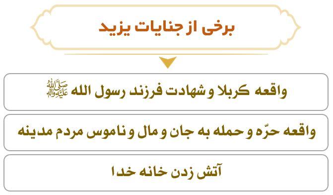 نمودار جنایات یزید در زمان امام سجاد (ع)